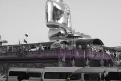 Giant Golden Buddha in Chiang Saen