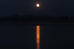 Chiang Saen moon rise