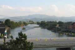 River through Thaton